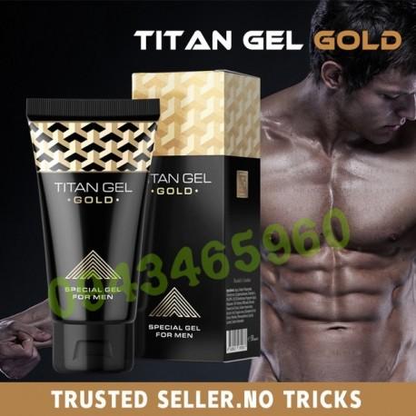 Gel Làm To Dương Vật Titan Gold Chính Hãng
