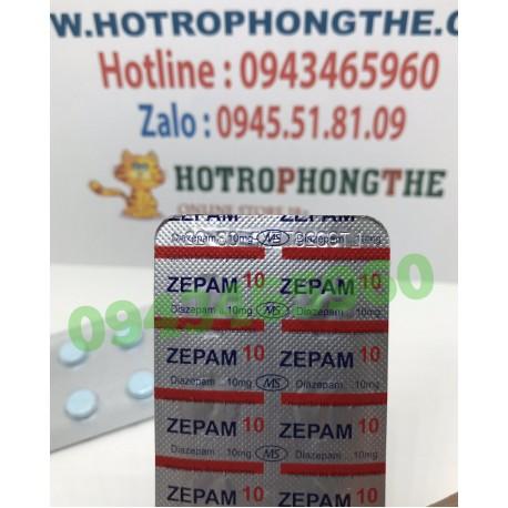 Thuốc Ngủ Dạng Viên Zepam10 Diazepam
